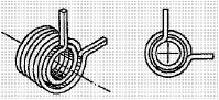 付図33 コイルばね(3200)、ねじりコイルばね(3230)、重ね巻きねじりコイルばね(3232)、円筒コイルばね(3241)、角ばね(3273)