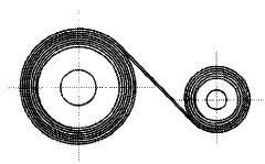付図49 渦巻きばね(3400)、ぜんまい(3410)、接触形ぜんまい(3411)、定荷重ぜんまい(3414)