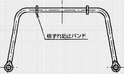 付図58 横ずれ防止バンド(4442)