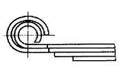 付図70 ミリタラッパ(3/4巻)[二番巻(4122)、ミリタラッパ(4127)]