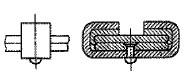 付図75 ゴム付きクリップ[クリップ(4150)、クリップバンド(4151)、クリップボルト(4152)、クリップパイプ(4153)]