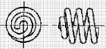 付図83 (h)ピッグテールエンド(無研削)(4217)[圧縮コイルばね端部(4210)、オープンエンド(4211)、クローズエンド(4212)、ピッグテールエンド(4213)、タンジェントテールエンド(4214)、研削エンド(4215)、テーパエンド(4216)、オープンフラットエンド(4217)]